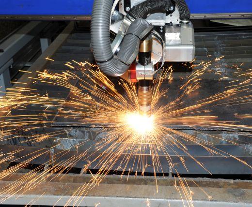 Maszyna docięcia stali